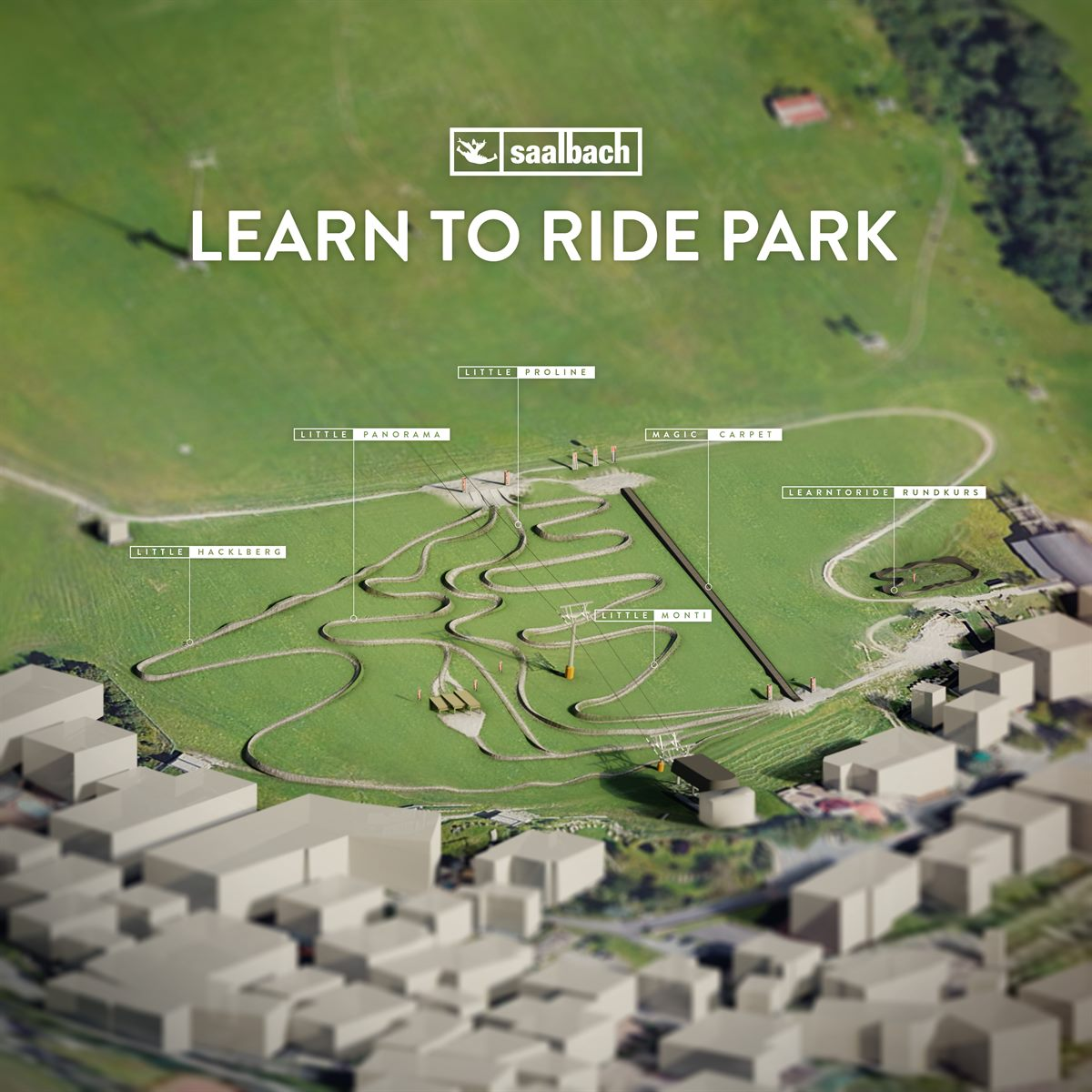 NEU ab 2021: Learn to Ride Park Saalbach